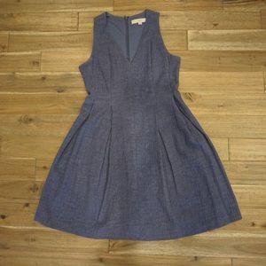 LOFT Periwinkle Dress